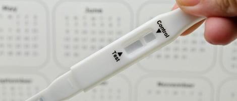 Résultats erronés du test de grossesse après l'usage d'Ovitrelle