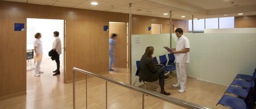 Barcelona-IVF-salle d'attente