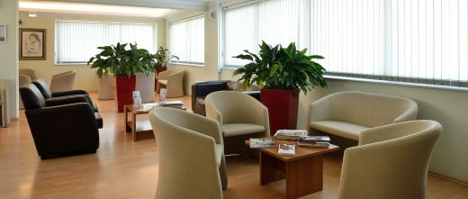 Mediterranean Fertility Center salle d'attente