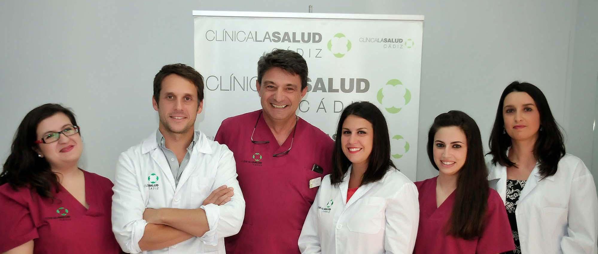 Équipe médicale Clínica La Salud Cádiz