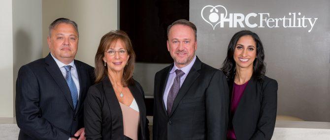 HRC Fertility équipe médicale