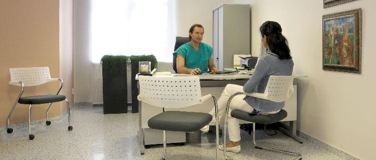 IVF Zlín Consultation médicale