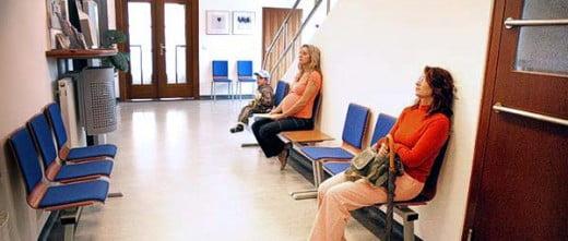 Salle d'attente Arleta IVF