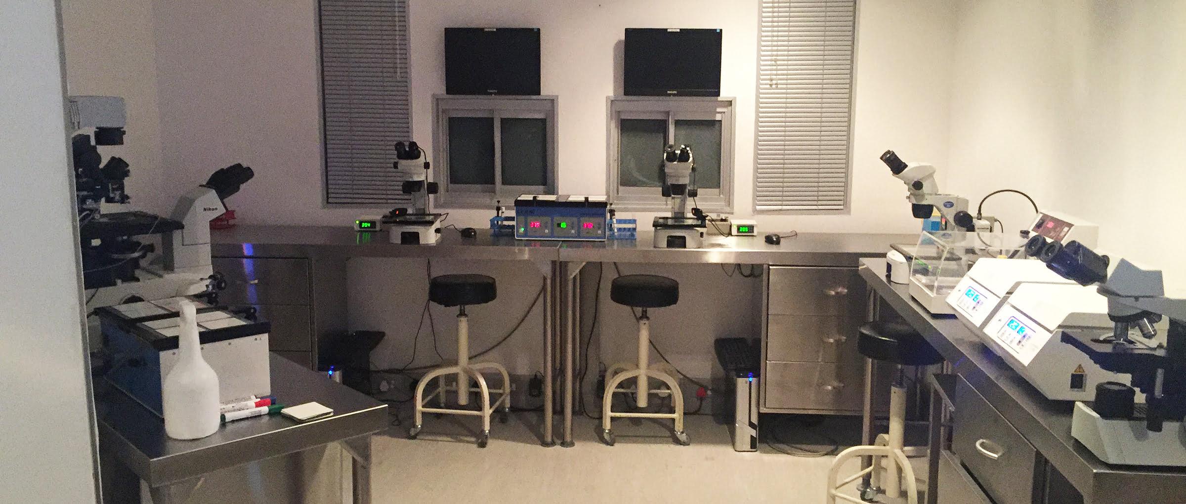 Cape Fertility Clinic Afrique du Sud laboratoire