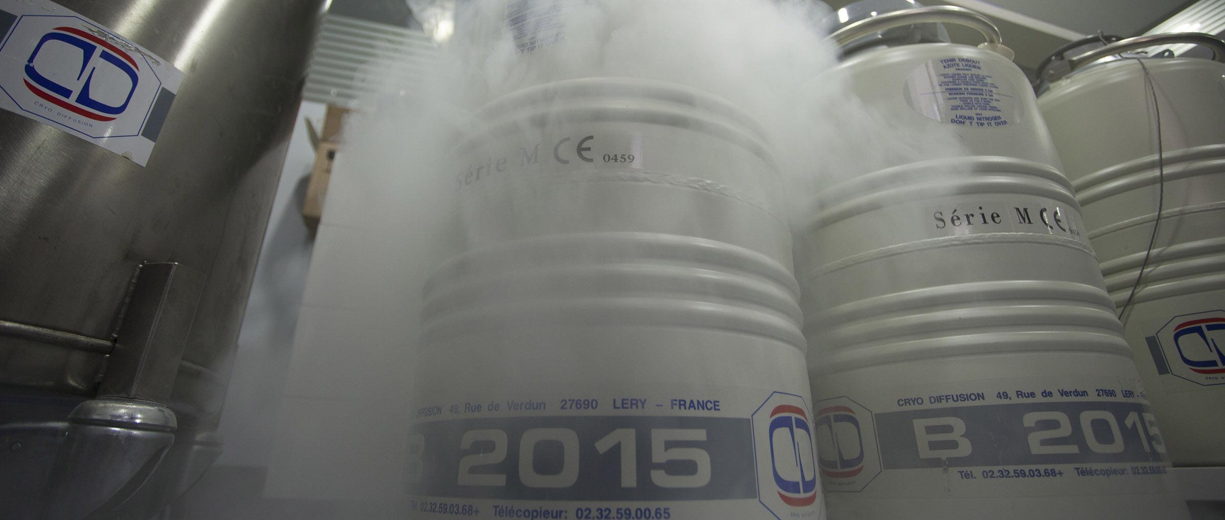 Cryoconservation de sperme - JANVIER LABS