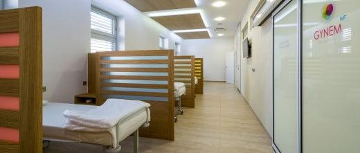 GYNEM salle de repos après traitement