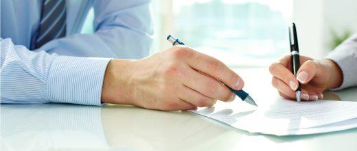 Signature du consentement pour réaliser le traitement de procréation assistée