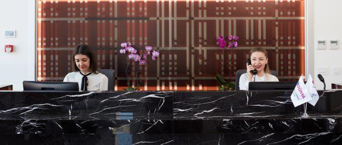 Dunya IVF bureau de reception