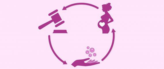 Législation sur le don d'ovocytes avec mère porteuse