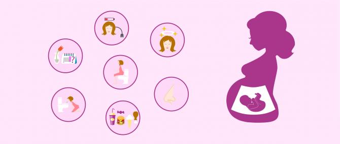 Symptômes de la grossesse après un don d'ovocytes