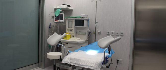 Fertility Madrid Détail bloc opératoire