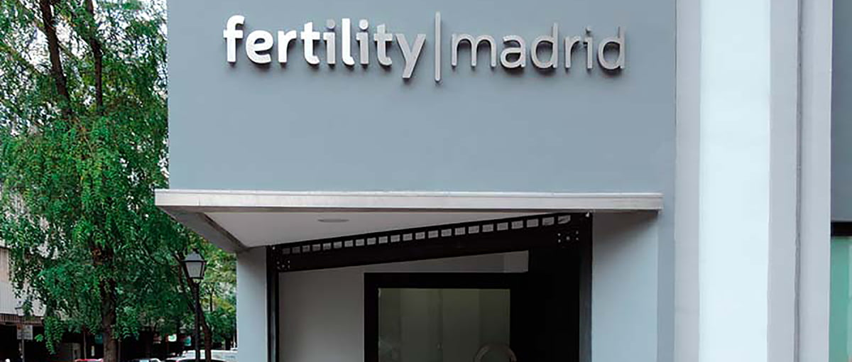 Fertility Madrid Façade