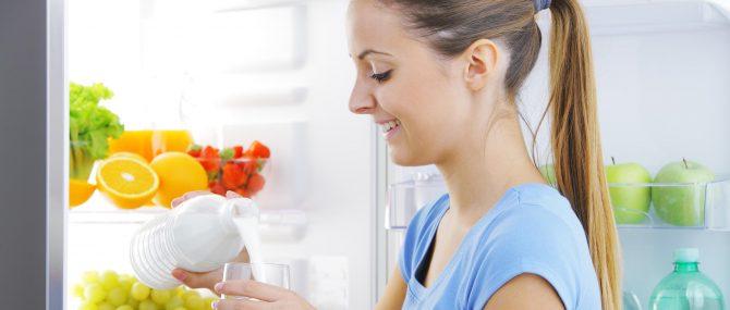 Alimentation saine et produits laitiers