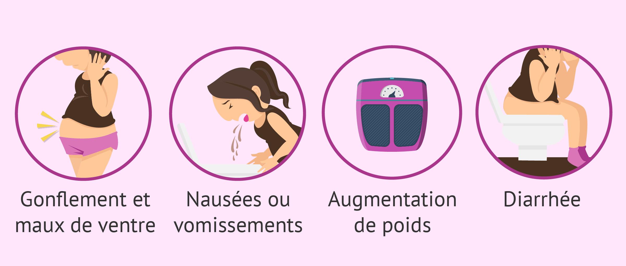 Imagen: Symptômes du HSO