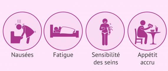 Symptômes du deuxième mois de grossesse