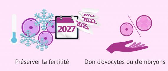 Options pour éviter les conséquences de l'âge sur la qualité des ovules