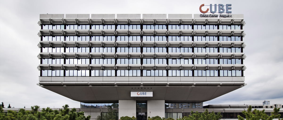 IVF Cube République tchèque bâtiment