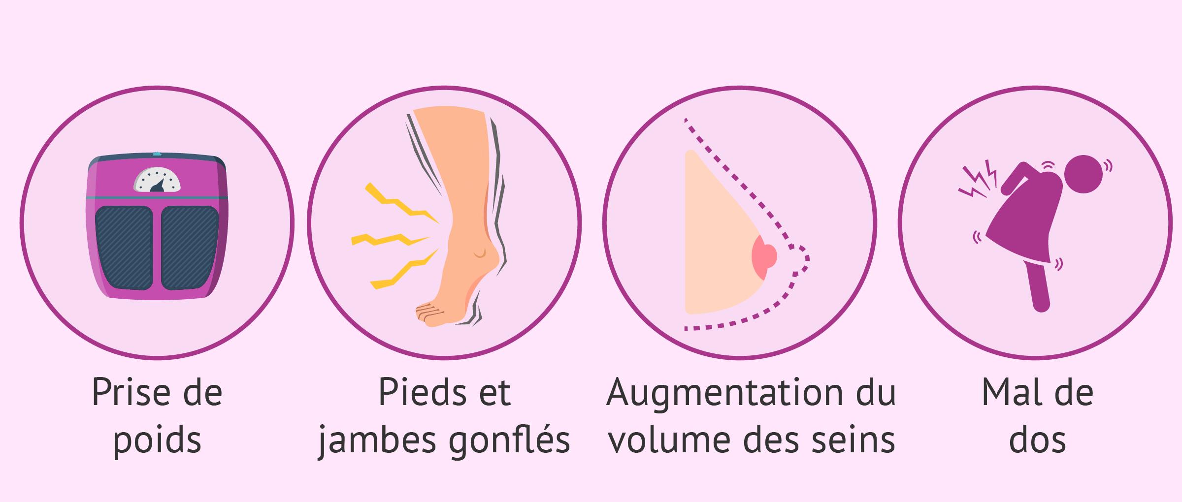 Symptômes à 5 mois de grossesse