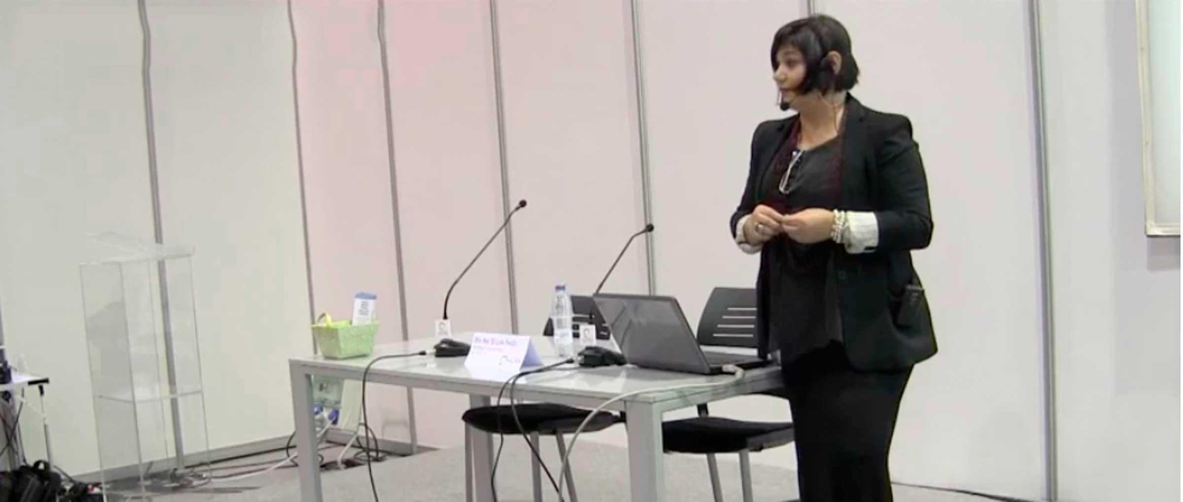 Intervention du Dr Ana Maria Segura Paños