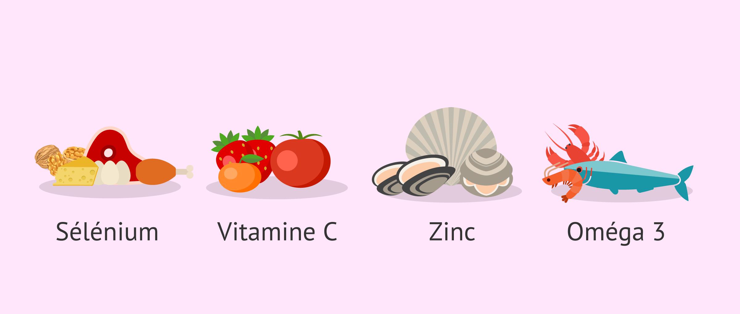 Alimentation saine et équilibrée pour guérir la tératozoospermie