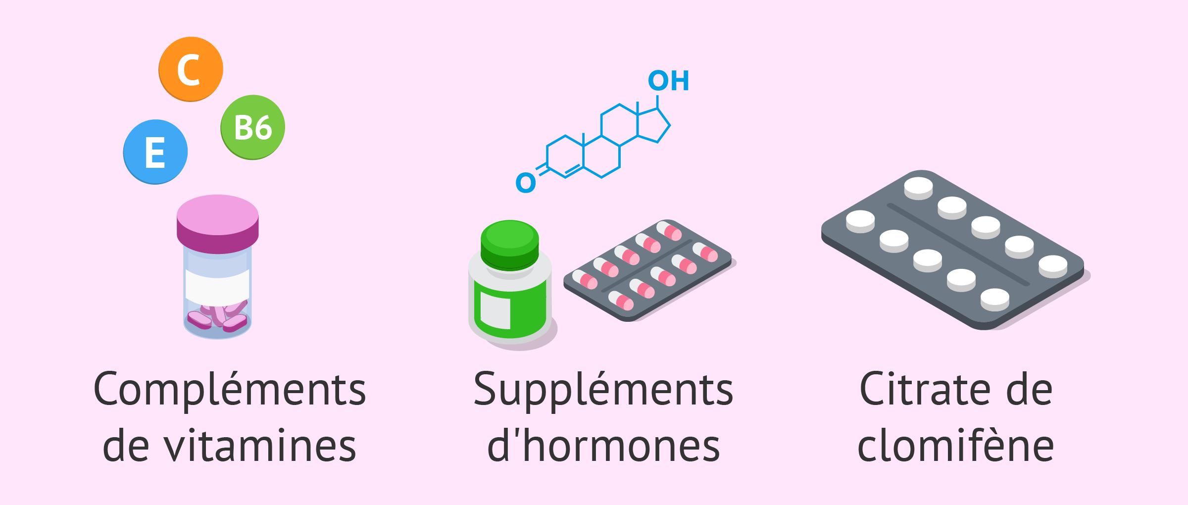 Médicaments pour l'oligospermie