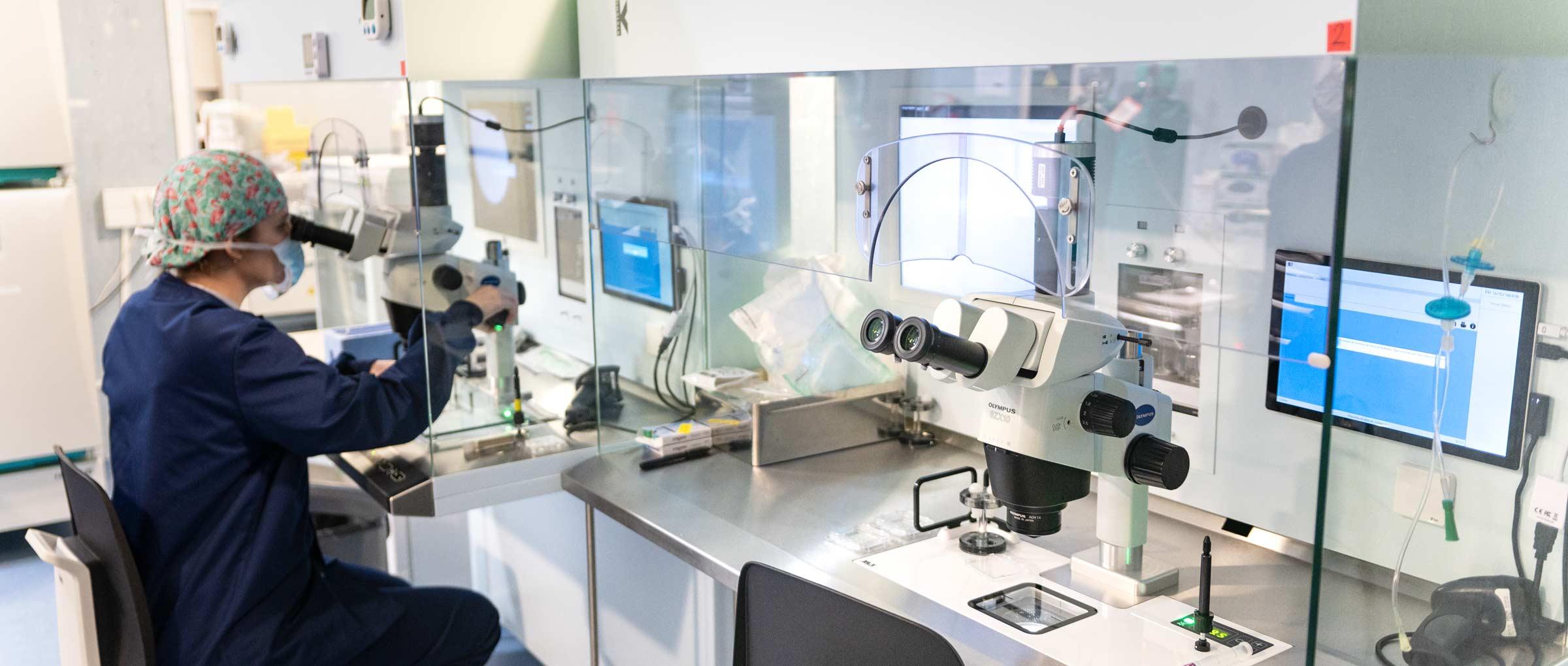 Imagen: Le laboratoire de FIV de la Clinique Tambre