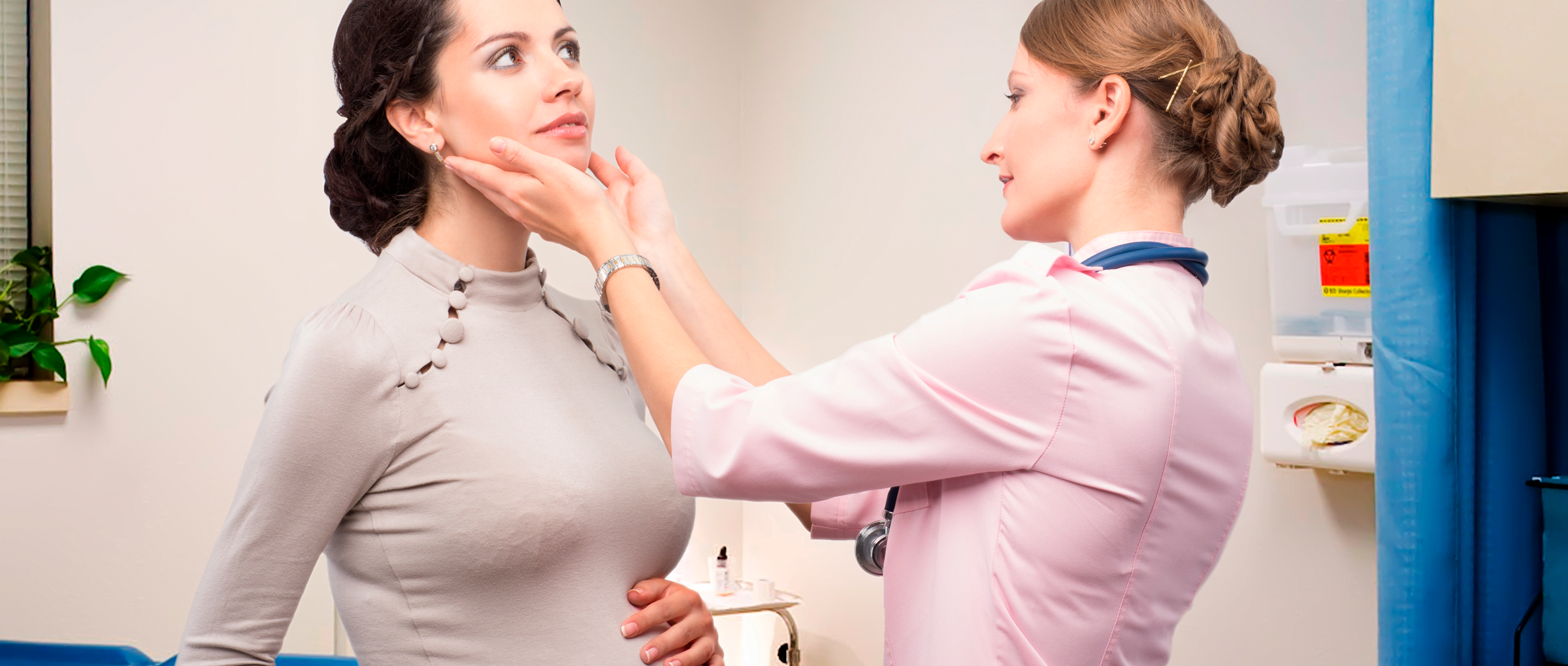 Contrôle de la glande thyroïde pendant la grossesse