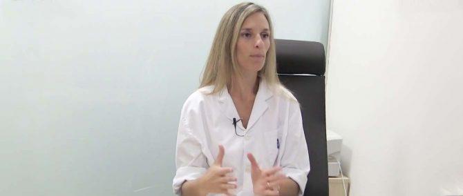 Imagen: Dr Nadia Caroppo, gynécologue