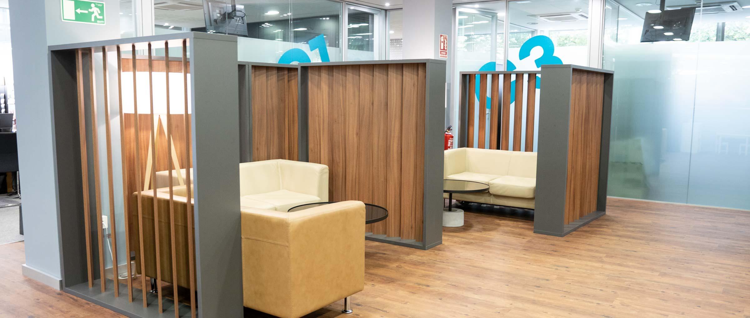 Imagen: Salle d'attente IVF Donostia