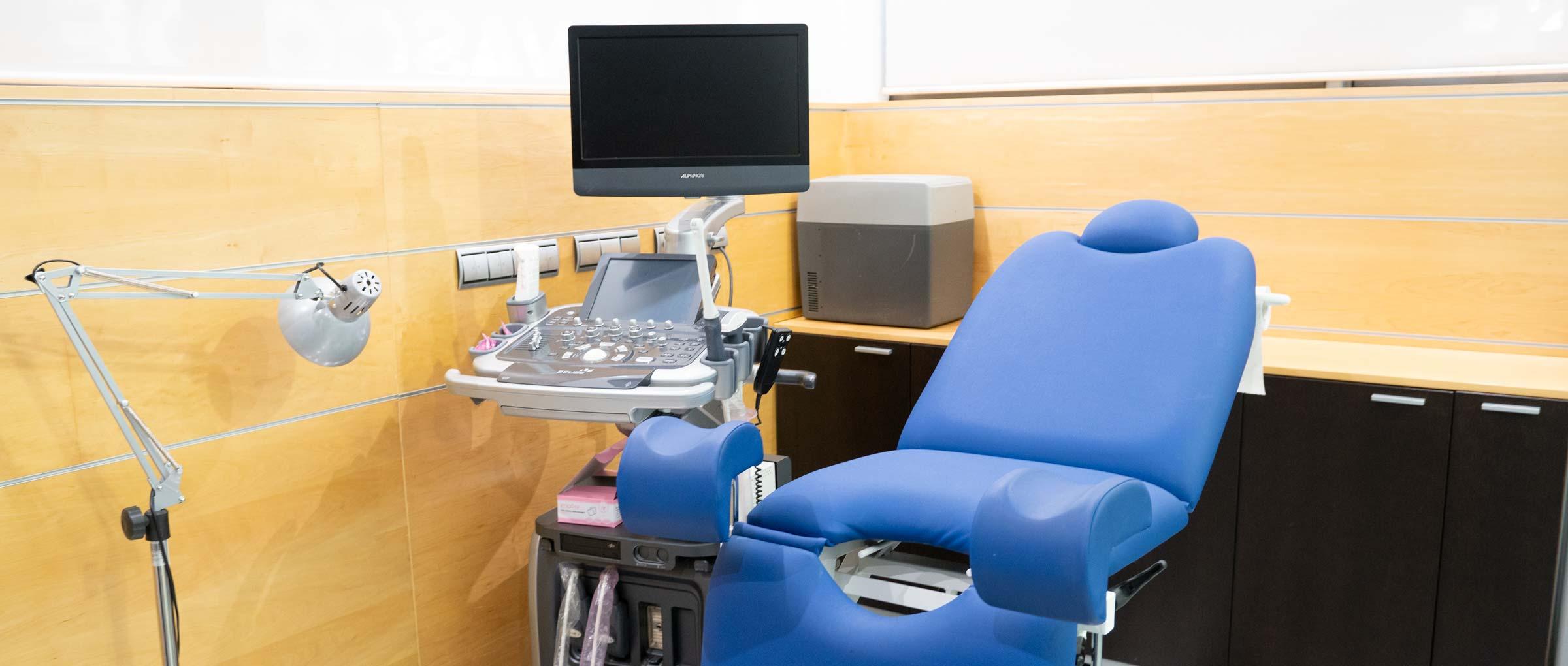 Salle d'examen IVF Donostia