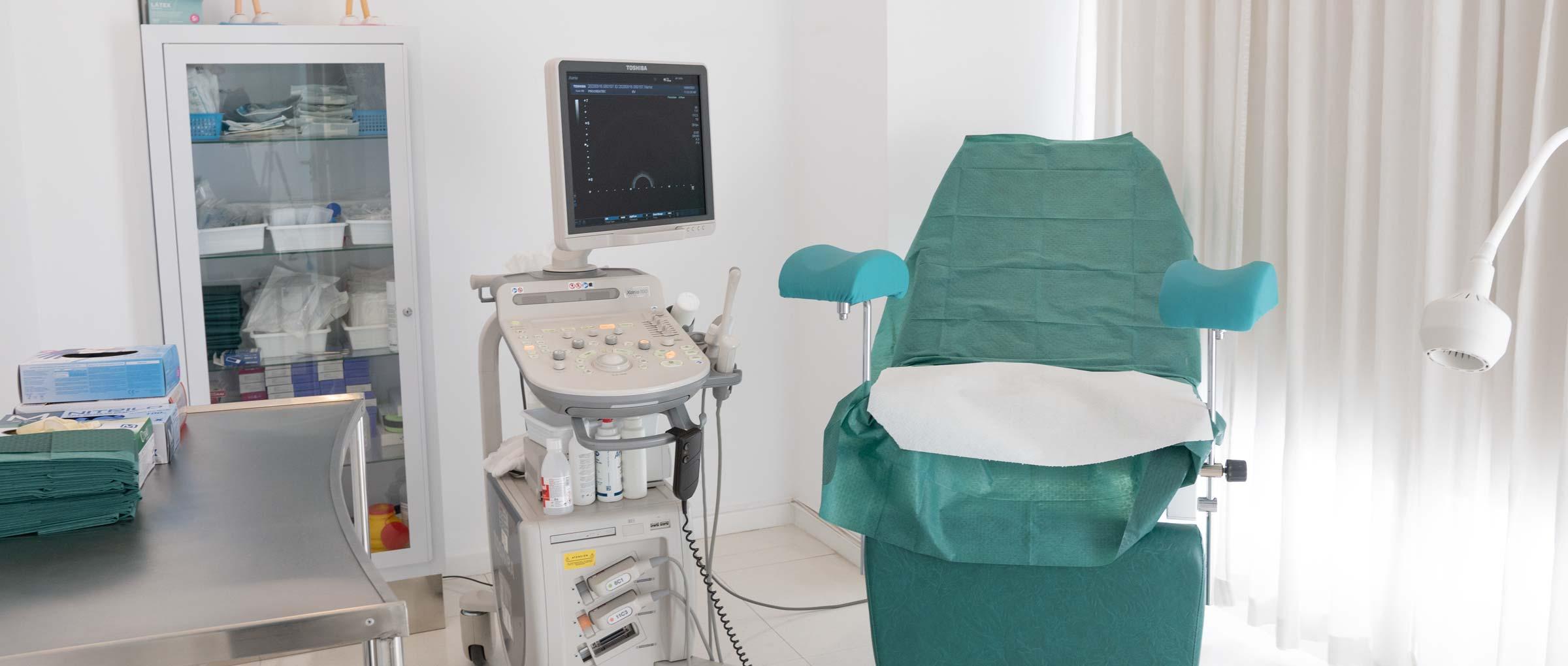 Salle d'exploration IVF Spain Madrid