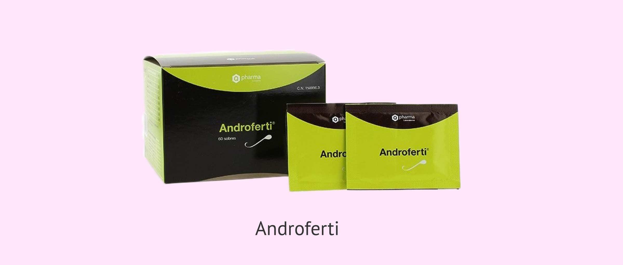 Androferti, un complément alimentaire antioxydant pour les hommes